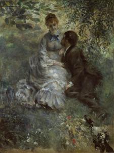 The Lovers, 1875 by Pierre-Auguste Renoir