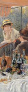 The Luncheon of the Boating Party, c.1881  (detail) by Pierre-Auguste Renoir