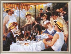 The Luncheon of the Boating Party, c.1881 by Pierre-Auguste Renoir