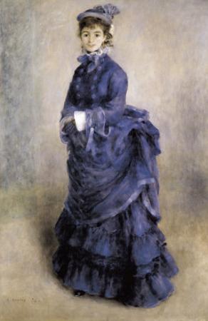 The Parisian Girl by Pierre-Auguste Renoir