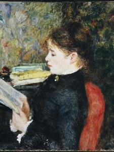 The Reader, 1877 by Pierre-Auguste Renoir
