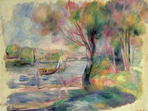 The Seine at Argenteuil, 1892 by Pierre-Auguste Renoir