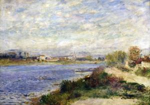 The Seine at Argenteuil, C1883 by Pierre-Auguste Renoir