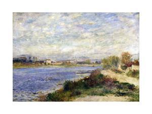 The Seine at Argenteuil, C1883 by Pierre-Auguste Renoir