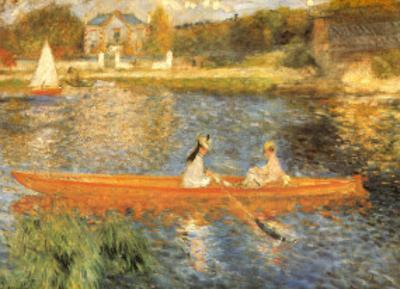 The Seine at Asnieres by Pierre-Auguste Renoir