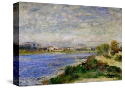 The Seine River Near Argenteuil, circa 1873