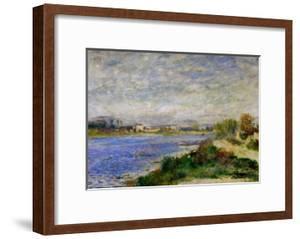 The Seine River Near Argenteuil, circa 1873 by Pierre-Auguste Renoir