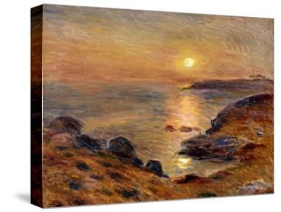The Setting of the Sun at Douarnenez; Couche De Soleil a Douarnenez, 1883