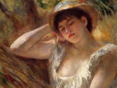The Sleeper, 1880 by Pierre-Auguste Renoir