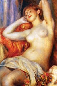 The Sleeping by Pierre-Auguste Renoir
