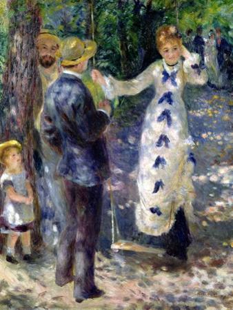 The Swing, 1876 by Pierre-Auguste Renoir