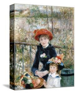The Two Sisters on the Terrace, 1881 by Pierre-Auguste Renoir