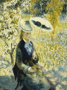 The Umbrella; L'Ombrelle, 1878 by Pierre-Auguste Renoir