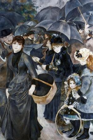 The Umbrellas, 1881-1886 by Pierre-Auguste Renoir