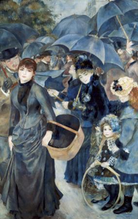 The Umbrellas by Pierre-Auguste Renoir