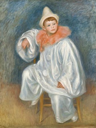 The White Pierrot, 1901/02 by Pierre-Auguste Renoir