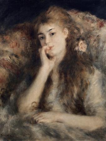 Thoughtful, La Pensee by Pierre-Auguste Renoir