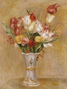 Tulipes by Pierre-Auguste Renoir