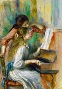 Two Girls at the Piano, 1892 by Pierre-Auguste Renoir