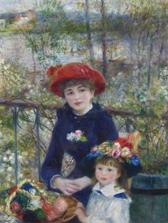 Two Sisters (On the Terrace), 1881