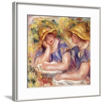 Two Women in Blue Dresses (The Two Sisters); Deux Femmes En Corsage Bleu (Les Deux Soeurs), 1919