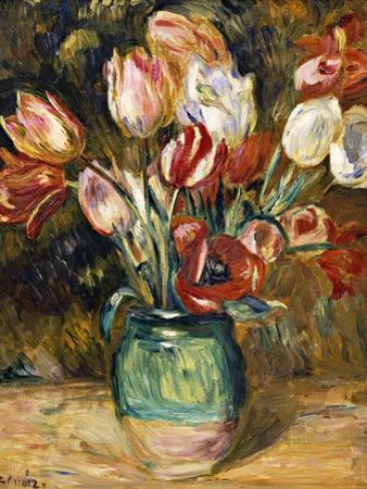 Vase de Fleurs by Pierre-Auguste Renoir