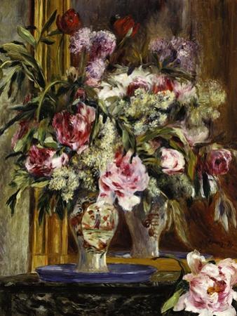 Vase of Flowers, 1871 by Pierre-Auguste Renoir