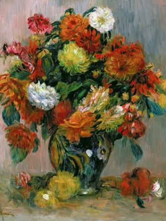 Vase of Flowers, C.1884 by Pierre-Auguste Renoir