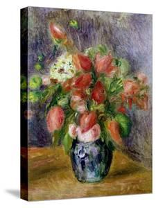Vase of Flowers, c.1909 by Pierre-Auguste Renoir