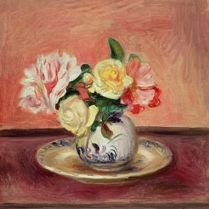 Vase of Flowers by Pierre-Auguste Renoir