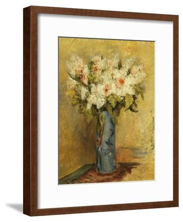 Vase of Lillies and Roses, C.1870