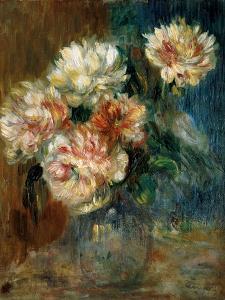 Vase of peonies by Pierre-Auguste Renoir