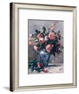 Vase of Roses by Pierre-Auguste Renoir