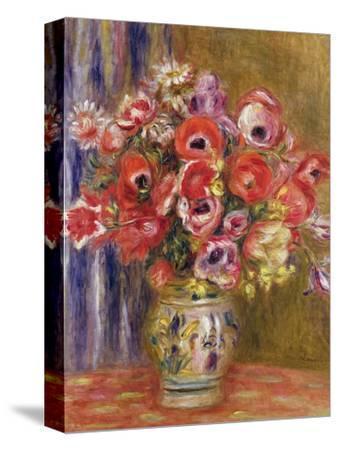 Vase of Tulips and Anemones, circa 1895