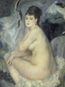 Weiblicher Akt (Anna), 1876 by Pierre-Auguste Renoir