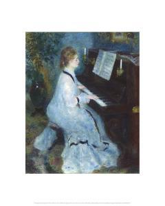 Woman at the Piano, 1875/76 by Pierre-Auguste Renoir