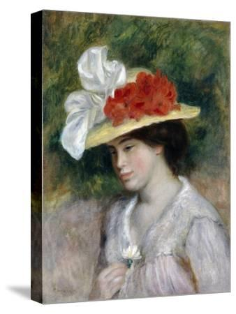 Woman in a Flowered Hat, 1889
