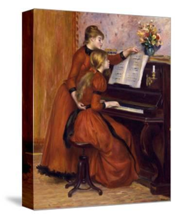 Young Girls at the Piano. Ca. 1889
