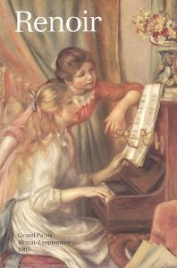 Young Girls at the Piano (Detail) by Pierre-Auguste Renoir