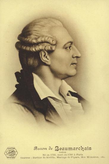 Pierre Beaumarchais--Giclee Print