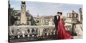 Lovers in Paris by Pierre Benson