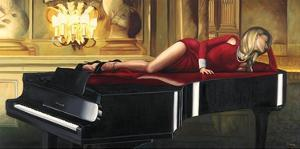 Piano Lady by Pierre Benson