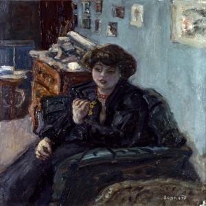 Bonnard: Lady, 19Th C by Pierre Bonnard