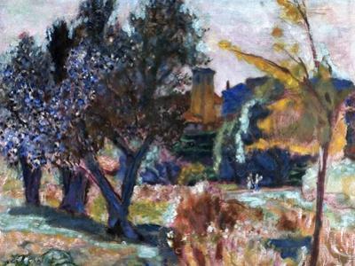 Bonnard: Landscape, 1924