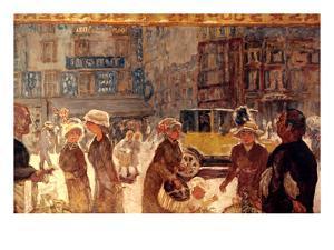 Bonnard: Place Clichy by Pierre Bonnard