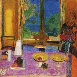 Dining Room On The Garden by Pierre Bonnard