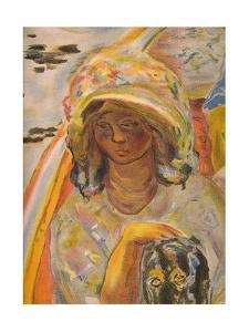 'En barque', 1907, (1939) by Pierre Bonnard