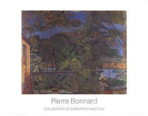 La Terasse by Pierre Bonnard