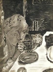 Le Petit Déjeuner by Pierre Bonnard