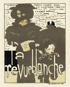 Magazine La Revue Blanche, c.1894 by Pierre Bonnard